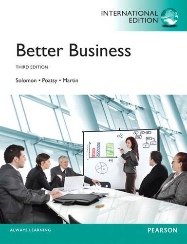 9780133378498: Better Business: International Edition
