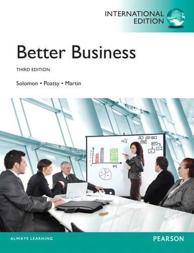 9780133378498: Better Business: International Edition