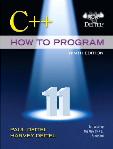 9780133378719: C++ How to Program (Early Objects Version) (9th Edition) (Deitel, How to Program)