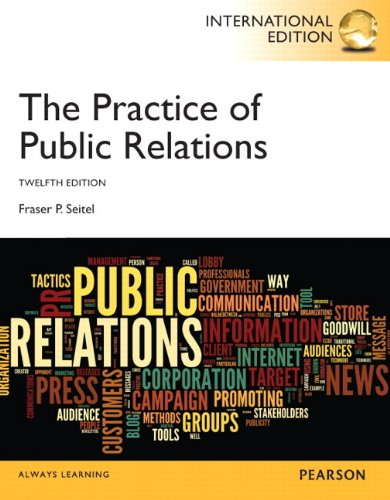 9780133379037: The Practice of Public Relations