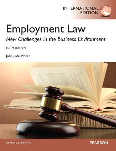9780133379044: Employment Law