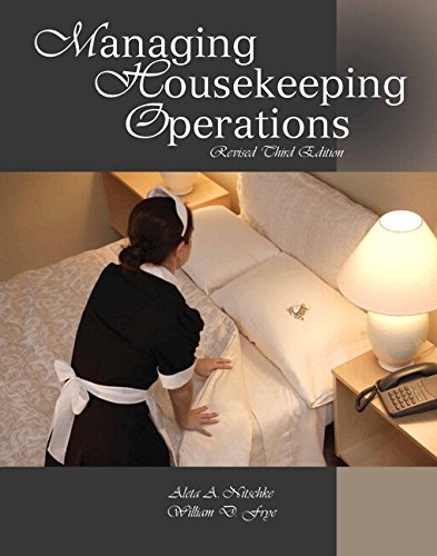 9780133380002: Managing Housekeeping Operations with Answer Sheet (AHLEI) & Managing Housekeeping Operations Online Componemt (AHLEI) -- Access Card Package (3rd Edition)