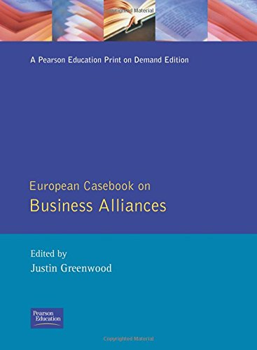 9780133380392: European Casebook on Business Alliances (Prentice-Hall European Casebook)