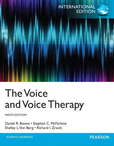 9780133380842: The Voice and Voice Therapy: International Edition
