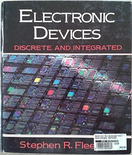 9780133381207: Electronic Devices: Discrete and Integrated (Processing on Microcomputers)
