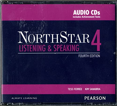9780133382099: NorthStar Listening and Speaking 4 Classroom Audio CDs