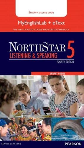 9780133382228: Northstar Listening and Speaking 5 Etext with Myenglishlab