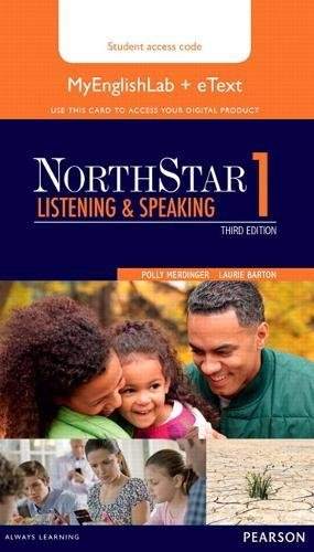 9780133382303: NorthStar Listening and Speaking 1 eText with MyEnglishLab