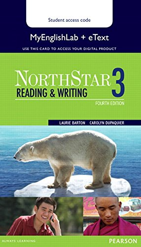 9780133382471: Northstar Reading and Writing 3 Etext with MyEnglishLab