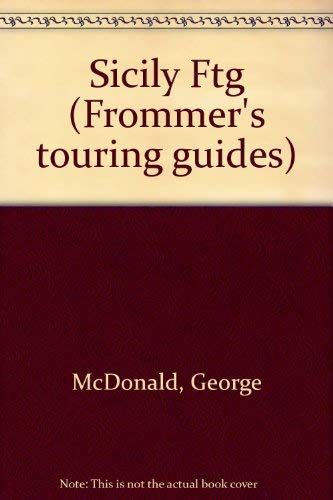 9780133382600: Frommer's Touring Guides: Sicily (Frommer's Touring Guide to Sicily)