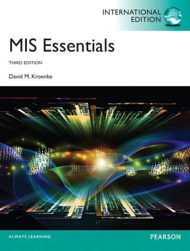 9780133382839: MIS Essentials