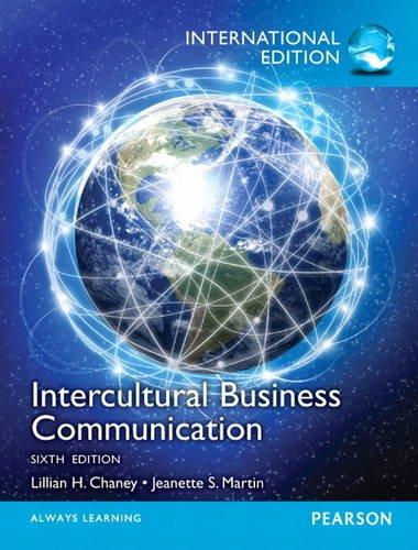9780133382914: Intercultural Business Communication