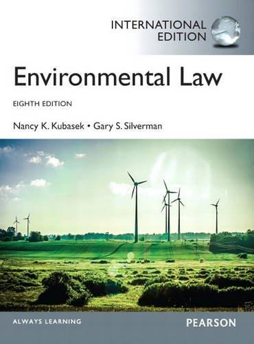 9780133382976: Environmental Law