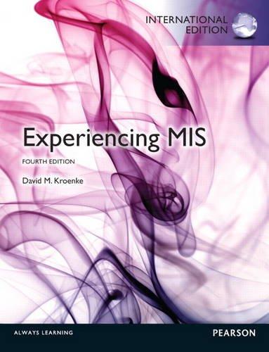 9780133383539: Experiencing MIS