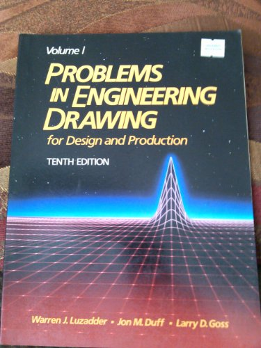 9780133384505: Problems in Engineering Drawing: v. 1 & 2