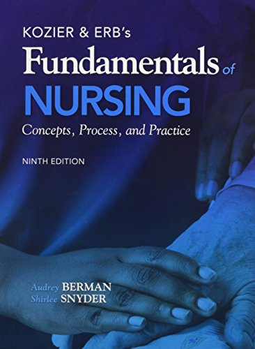 9780133384697: Kozier & Erb's Fundamentals of Nursing 9e + Real Nursing Skills 2.0 for Skills Access Card for the RN Online Version 2e + $10 Iclicker Student Mail-In