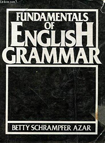 9780133385007: Fundamentals of English Grammar