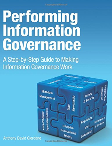 9780133385656: Performing Information Governance: A Step-by-step Guide to Making Information Governance Work (IBM Press)