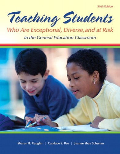 9780133386288: Teaching Students Who are Exceptional, Diverse, and At Risk in the General Education Classroom, Video-Enhanced Pearson eText with Loose-Leaf Version -- Access Card Package (6th Edition)