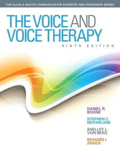 The Voice and Voice Therapy: Boone, Daniel R.;