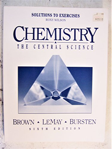 9780133387247: Chemistry Solutions Exercises