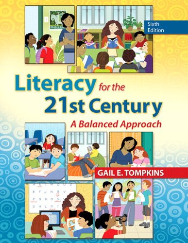 9780133388268: Literacy for the 21st Century: A Balanced Approach with Video-Enhanced Pearson eText -- Access Card Package (6th Edition) (Books by Gail Tompkins)