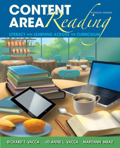9780133388411: Content Area Reading: Literacy and Learning Across the Curriculum with Video-Enhanced Pearson eText -- Access Card Package (11th Edition)