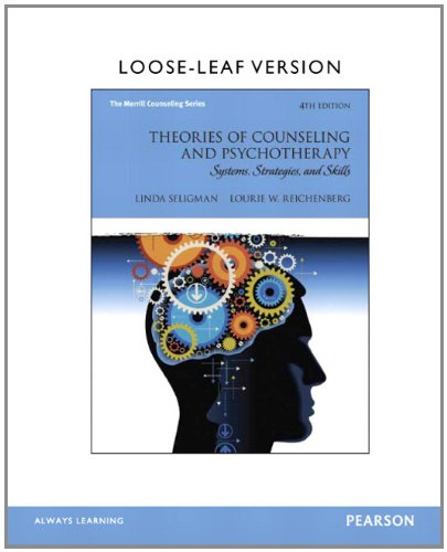 9780133388978: Theories of Counseling and Psychotherapy: Systems, Strategies, and Skills, Loose-Leaf Version (4th Edition) (Merrill Counseling)