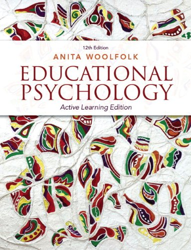 9780133389128: Educational Psychology: Active Learning Edition Plus NEW MyEducationLab with Video-Enhanced Pearson eText -- Access Card Package (12th Edition)