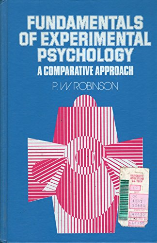 9780133391688: Fundamentals of Experimental Psychology: A Comparative Approach