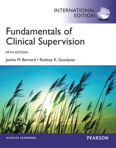 9780133392029: Fundamentals of Clinical Supervision