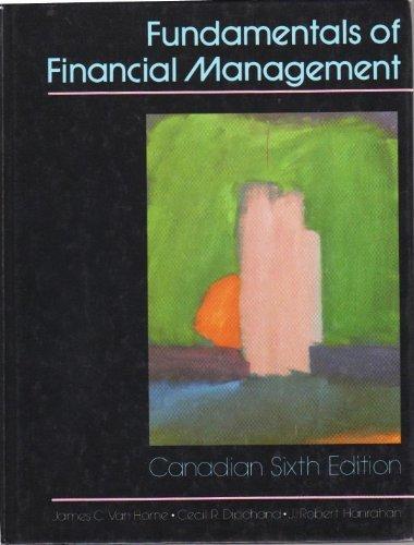 Fundamentals of Financial Management: J C Van