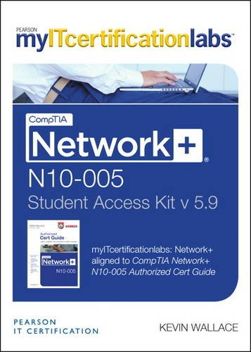 9780133392982: CompTIA Network+ N10-005 Cert Guide, V5.9 MyITcertificationlabs -- Access Card