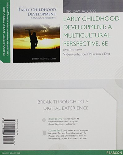 9780133395266: Early Childhood Development: A Multicultural Perspective, Video-enhanced Pearson Etext -- Access Card