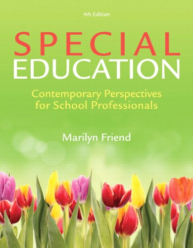 9780133397390: Special Education: Contemporary Perspectives for School Professionals, Video-Enhanced Pearson eText -- Access Card (4th Edition)