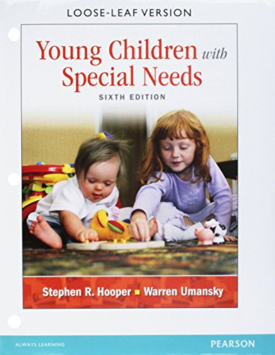 9780133397833: Young Children with Special Needs, Pearson eText -- Access Card
