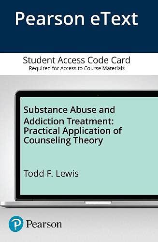 9780133398366: Substance Abuse and Addiction Treatment, Video-Enhanced Pearson eText -- Access Card