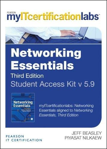 9780133399325: Networking Essentials V5.9 MyITCertificationLab -- Access Card