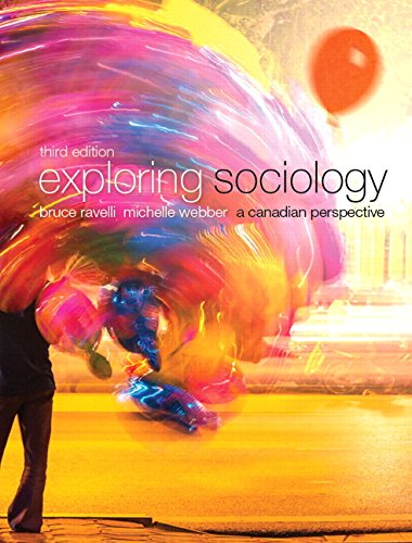 9780133399349: Exploring Sociology: A Canadian Perspective (3rd Edition)