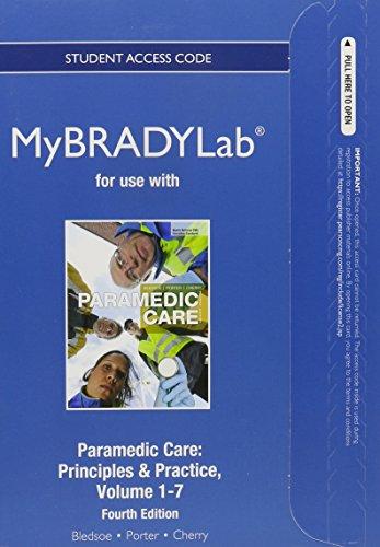 9780133399479: NEW MYBRADYLAB STANDALONE AC V1-7&ETXT A/C (4th Edition)