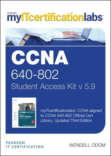 9780133399622: CCNA (640-802) v5.9 MyITCertificationlab -- Access Card