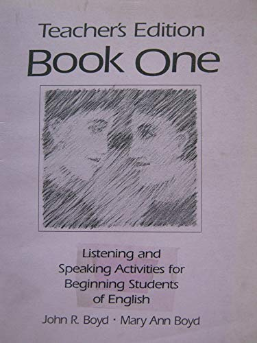 Listing and Package Activity: Beginning Student English Book 1 (0133400840) by John R. Boyd; Mary Ann Boyd
