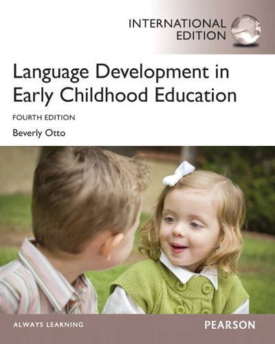 9780133401479: Language Development in Early Childhood Education