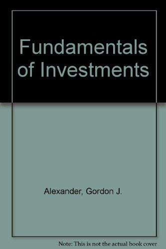 9780133401677: Fundamentals of Investments
