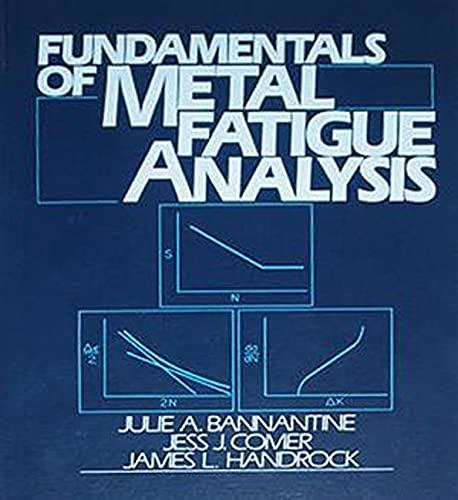 Fundamentals of Metal Fatigue Analysis: Bannantine, Julie A./