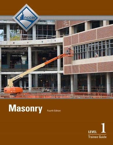9780133402483: Masonry Level 1 Trainee Guide