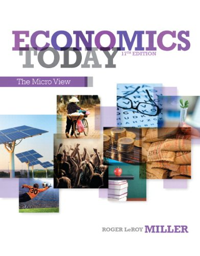9780133403916: Economics Today: The Micro View Plus NEW MyEconLab with Pearson eText -- Access Card Package (17th Edition)
