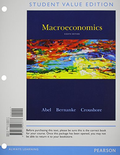 9780133405071: Macroeconomics, Student Value Edition Plus NEW MyEconLab with Pearson eText -- Access Card Package (8th Edition)