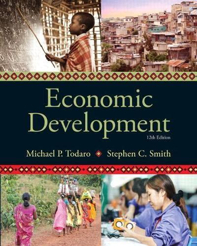 9780133406788: Economic Development (12th Edition) (The Pearson Series in Economics)