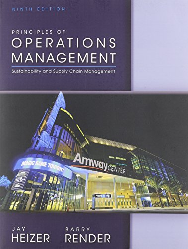 9780133407945: Principles of Operations Management and Student CD